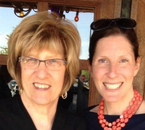 Aurian Lotter and Karen Hickey at Divinum Auxilium Academy